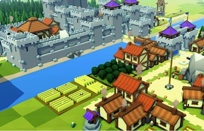 Kingdoms castles